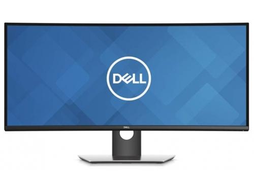 Монитор Dell UltraSharp U3419W, черный, вид 2