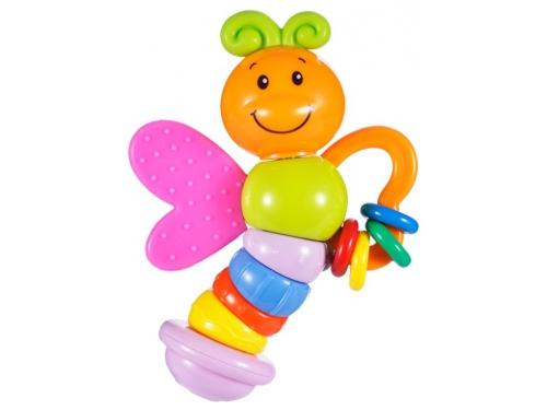 Игрушка для малыша Прорезыватель-погремушка Жирафики Бабочка Мия, вид 1