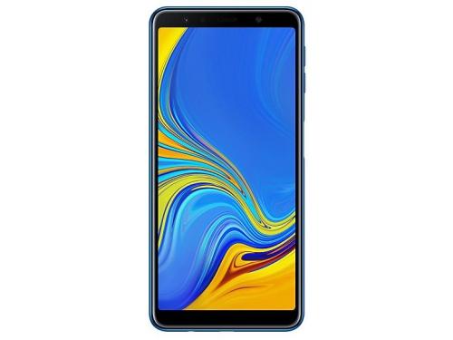 Смартфон Samsung Galaxy A7 (2018) 4/64Gb SM-A750, синий, вид 1