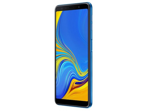 Смартфон Samsung Galaxy A7 (2018) 4/64Gb SM-A750, синий, вид 3