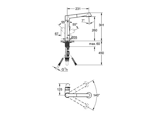 �������� ��������� Grohe K7 32176000, ����, ��� 2