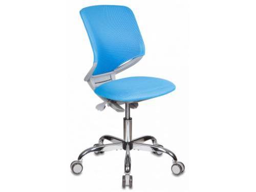 Компьютерное кресло Бюрократ KD-7/TW-55 голубое, вид 1