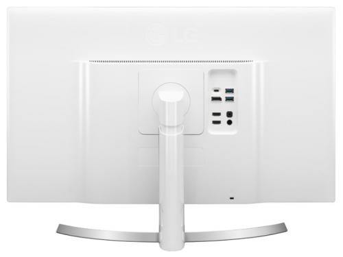 Монитор LG 27UD88, белый, вид 4