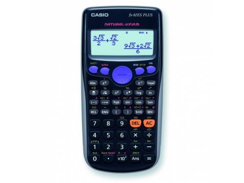 Калькулятор Casio FX-82ES PLUS, чёрный, вид 1