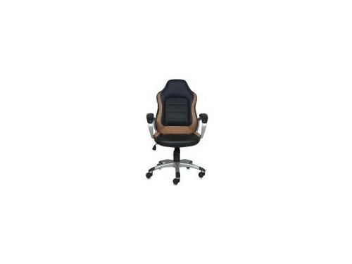Компьютерное кресло Бюрократ CH-825S/Black Beige/Silver, вид 1