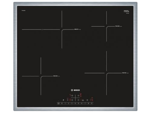 Варочная поверхность Bosch PIF645FB1E, черная, вид 2