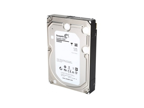 Жесткий диск Seagate Archive HDD v2, 8Tb, 128Mb, SATA-3, 5900rpm, 3.5'' (ST8000AS0002), вид 1