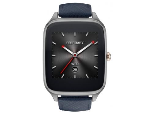 Умные часы Asus ZenWatch WI501Q, синие, вид 1