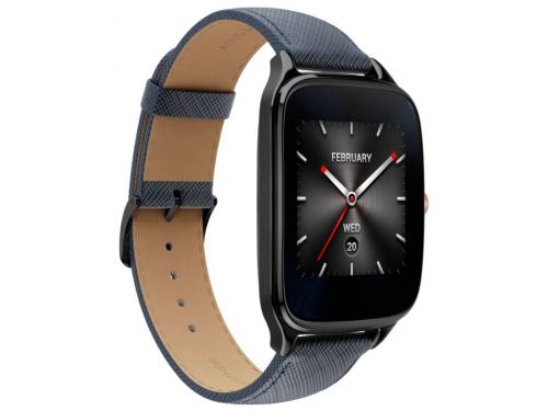 Умные часы Asus ZenWatch WI501Q, синие, вид 2