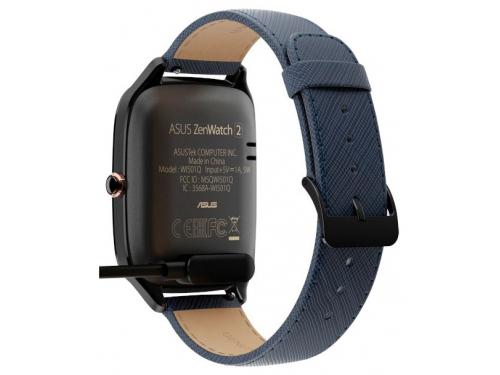 Умные часы Asus ZenWatch WI501Q, синие, вид 5