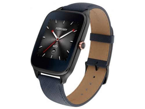 Умные часы Asus ZenWatch WI501Q, синие, вид 6