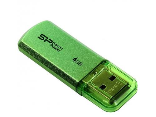 Usb-флешка Silicon Power Helios 101 4Gb, зеленая, вид 2