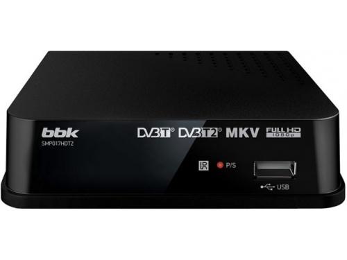 Ресивер BBK SMP017HDT2, черный, вид 1