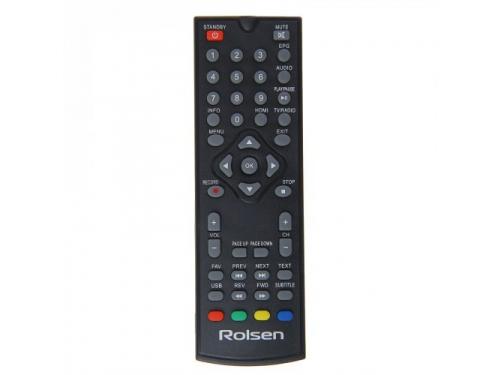 Ресивер Rolsen RDB-529, черный, вид 2