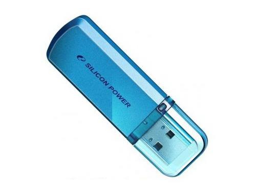 Usb-флешка Silicon Power Helios 101 64Gb, синяя, вид 1