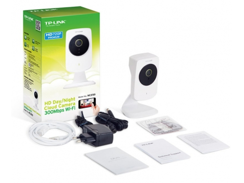 IP-камера TP-Link NC250, белая, вид 3