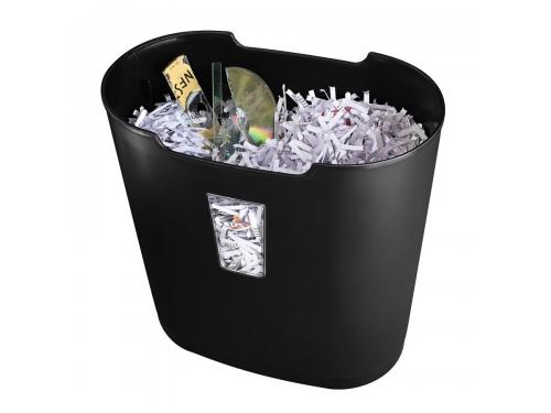 Уничтожитель бумаг Hama Premium H-50178, черный, вид 2