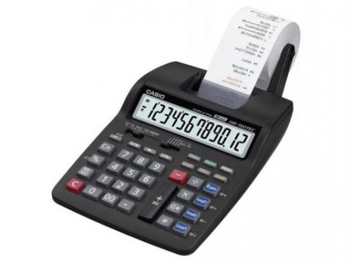 Калькулятор Casio HR-150TEC-W1-E-EH 12-разрядный, Чёрный, вид 1