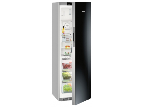 Холодильник Liebherr KBPgb 4354 черное стекло, вид 1
