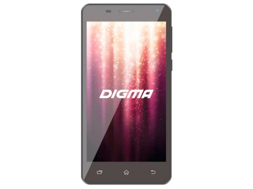 Смартфон Digma A500 3G Linx 8Gb, черный, вид 1