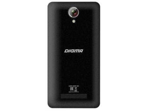 Смартфон Digma A500 3G Linx 8Gb, черный, вид 2