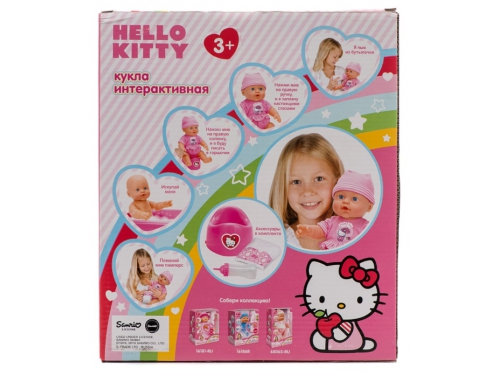 Кукла Карапуз Hello Kitty, 4 функции (W21309A-Hello Kitty) 30см, вид 9