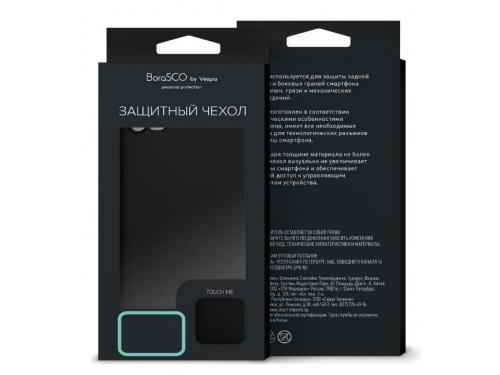 Чехол для смартфона Borasco для Huawei Y6 Prime 2018  черный, вид 1