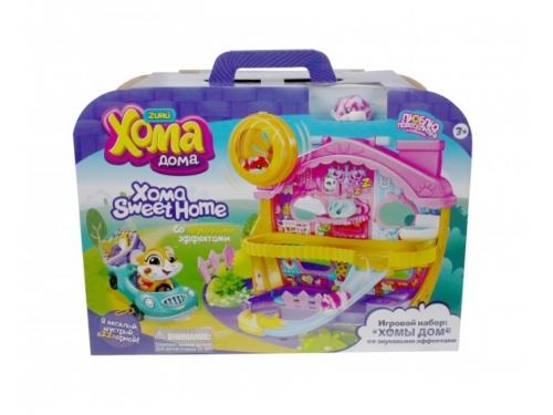 Игрушка 1Toy Хома Дома, Хомы Дом со звуковыми эффектами (5х3,2х3см)  набор, вид 1