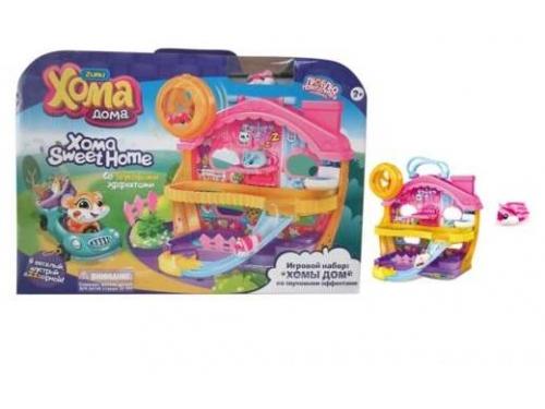 Игрушка 1Toy Хома Дома, Хомы Дом со звуковыми эффектами (5х3,2х3см)  набор, вид 3