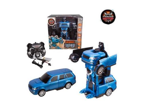 Робот-конструктор Машина-робот Пламенный мотор Космобот Сириус, аккум, синий (870337), вид 1