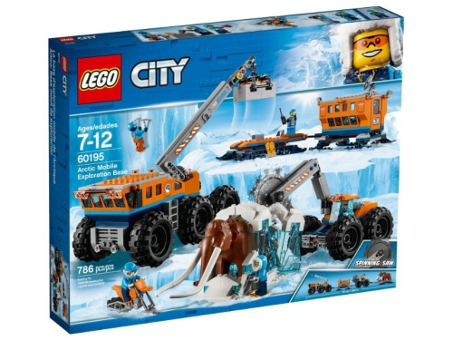 Конструктор Lego City Arctic Expedition (60195), вид 1