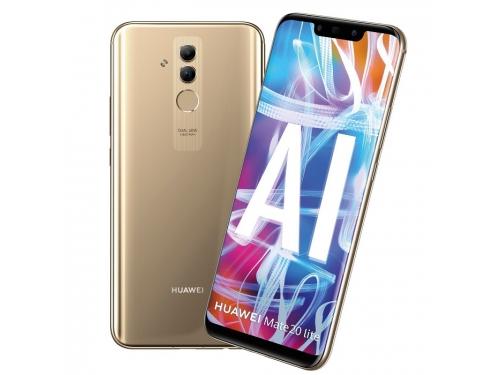 Смартфон Huawei Mate 20 Lite 4/64Gb, золотистый, вид 1