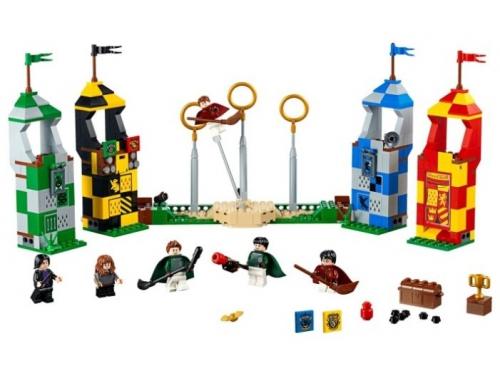 Конструктор Lego Harry Potter 75956 Матч по квиддичу (500 деталей), вид 1