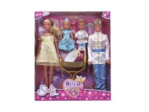 Кукла Simba Штеффи Кевин Еви Тимми, Королевская семья (29, 12см), вид 1