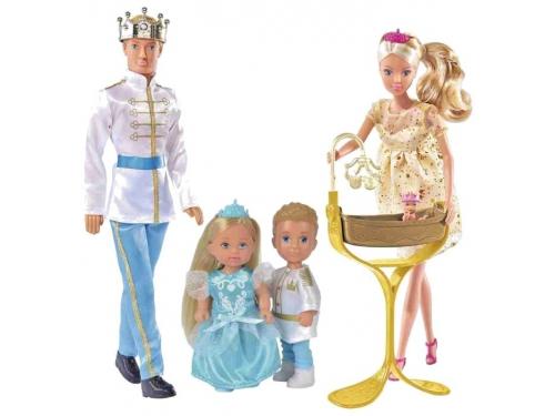 Кукла Simba Штеффи Кевин Еви Тимми, Королевская семья (29, 12см), вид 2