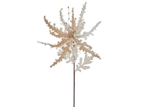 Новогоднее украшение Рождественский цветок House of Seasons 83562, вид 1