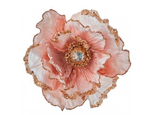 Новогоднее украшение Цветок House of Seasons 83554, вид 1