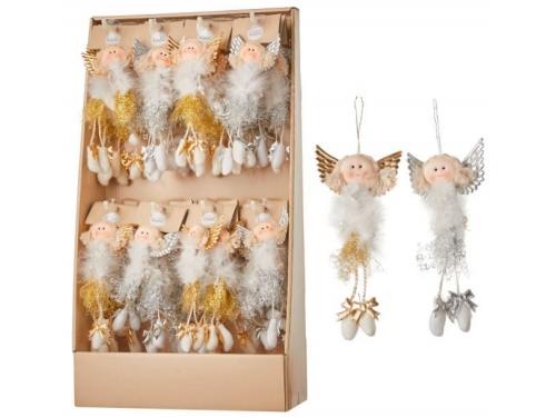 Новогоднее украшение Подвеска House of Seasons 83298 (кукла/ангел), вид 1