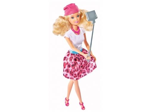 Кукла Simba Штеффи с селфи палкой 29 см (для детей от 3-х лет), вид 1