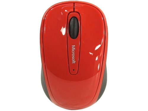 Мышь Microsoft Wireless Mobile Mouse 3500 USB, красная, вид 2