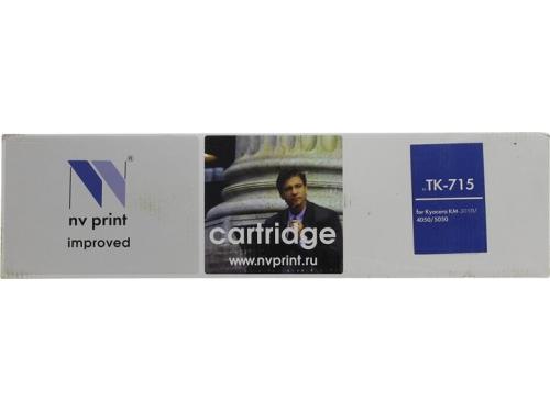 Картридж для принтера NV Print Kyocera TK-715, черный, вид 1