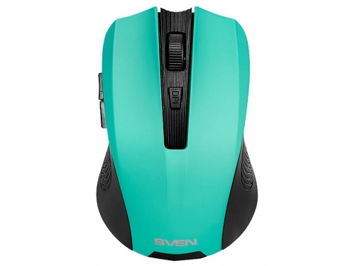 Мышь Sven RX-345 Wireless мятная, вид 2