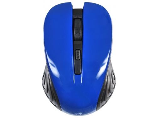 Мышь Oklick 545MW черная/синяя, вид 2