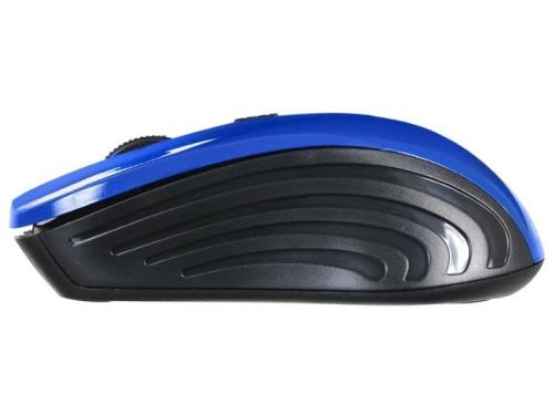 Мышь Oklick 545MW черная/синяя, вид 3