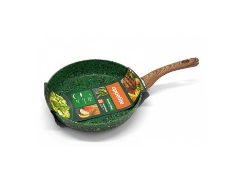 Сковорода Appetite GS2241 Green Stone 24 см (круглая), вид 1