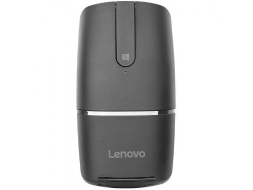 Мышь Lenovo Yoga Mouse (Bluetooth + радиоканал, встроенный презентер), черная, вид 1
