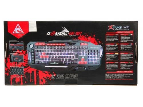Клавиатура Xtrikeme GK-901 USB, черная, вид 2