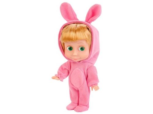 Кукла интерактивная Карапуз Маша и Медведь Маша, в костюме зайца, 15 см, 83030EAS (30), вид 2