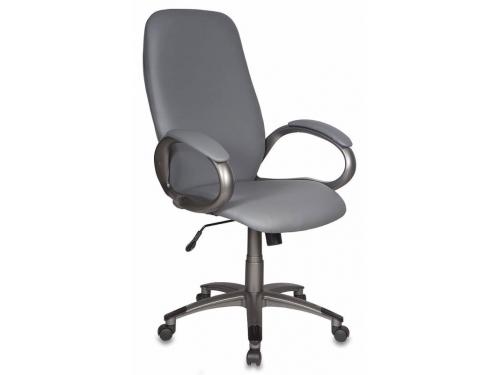 Компьютерное кресло Бюрократ T-700DG/OR-17, серое, вид 1