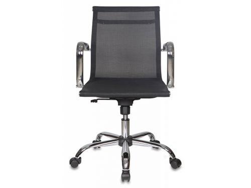 Компьютерное кресло Бюрократ CH-993-LOW/M01, низкая спинка, черное, вид 2